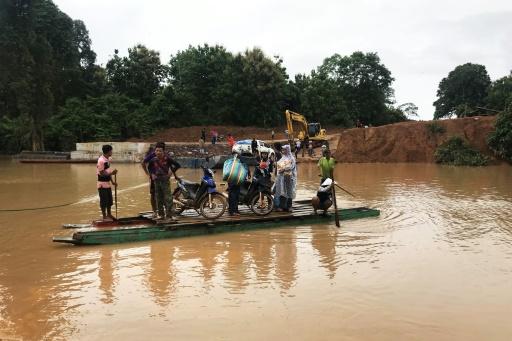 barrage au laos
