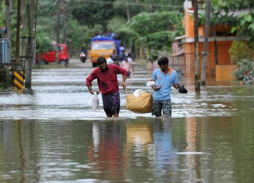 rechauffement innondation