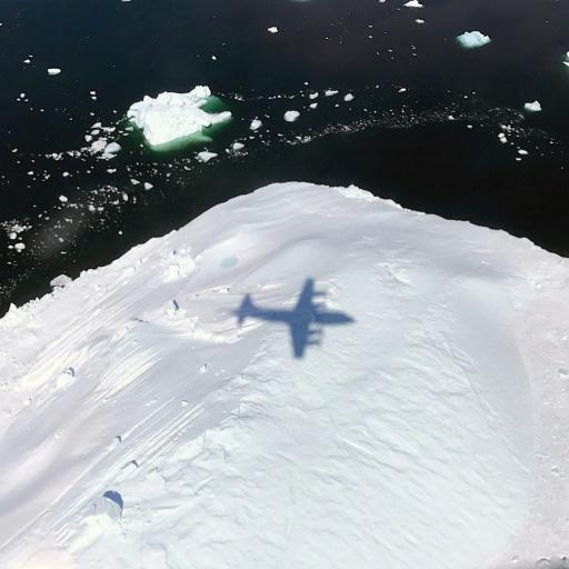 glace sur terre