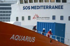 MSF medecins sans frontieres aquarius mediterranée