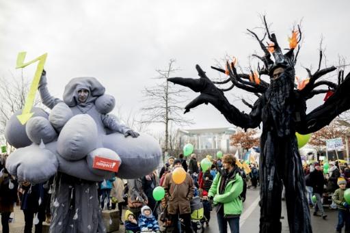 allemagne manifestants charbon