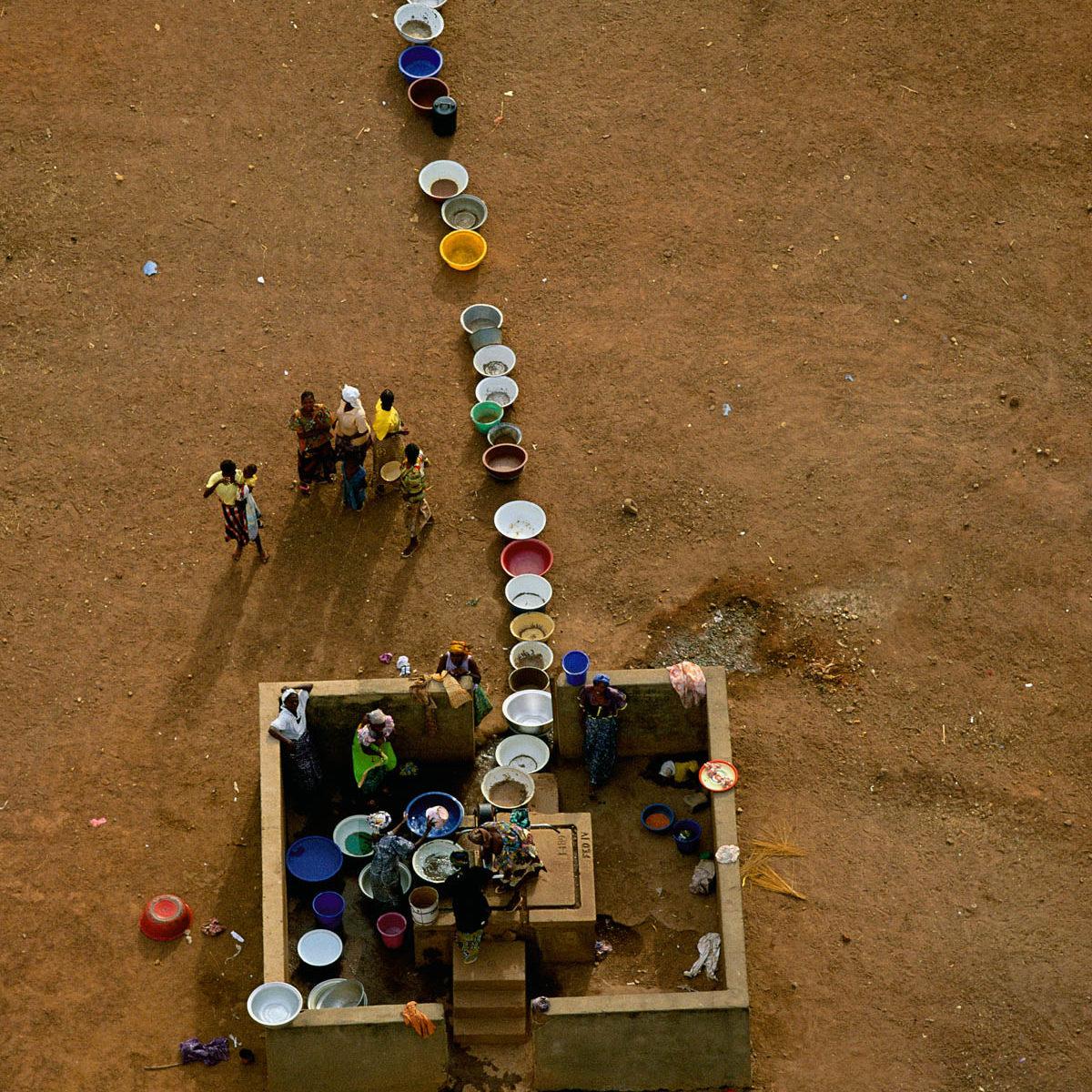 puits à l'abandon