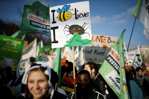 agriculture industrielle berlin manfestation contre