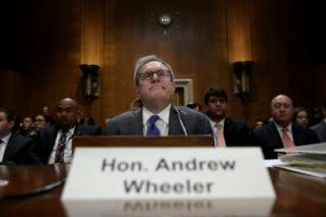 ministre de l'environnement trump lobbyiste andrew wheeler
