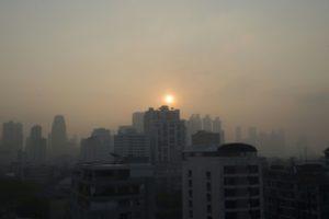 bangkok pluie pollution