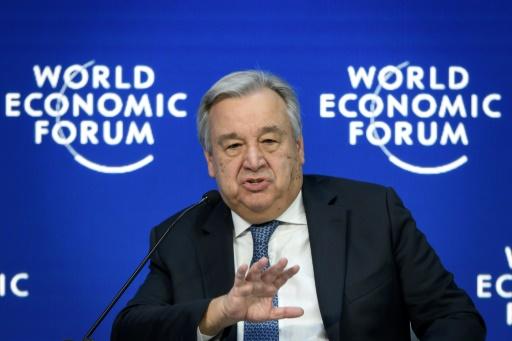 Davos changement climatique