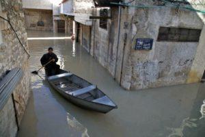 syrie pluie gondolier
