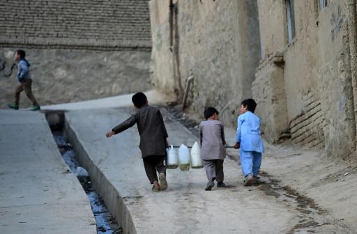 afghanistan kaboul manque d'eau