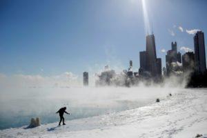 changement climatique vague de froid vortex froid greloter etats-unis usa