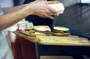 fast-food tri des déchets solutions