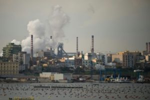 CEDH usine polluante rome