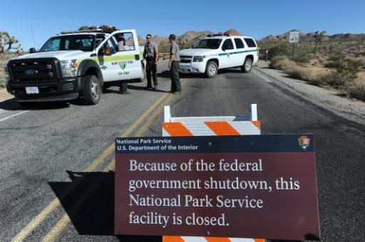 shutdown parcs nationaux