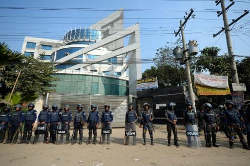 greve bangladesh ouvrier textile