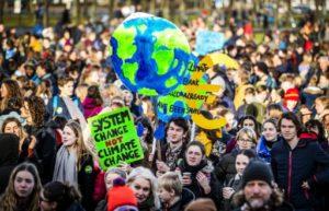 marche pour le climat jeunes pays bas