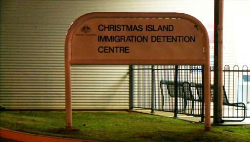 australie centre retention migrants iles chrimas