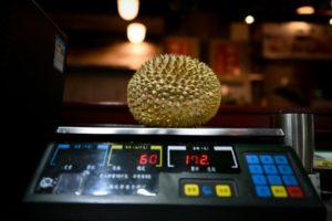 durian fruit qui pue chine forets malaisie