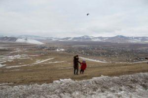 mongolie air exode enfants pollution