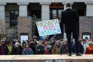 manifestation contre le nucleaire pris fukushima
