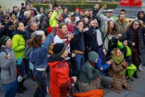 belgique militant climat parlement gouvernement
