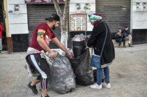 algerie volontaires nettoyer