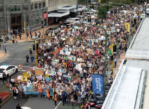 manif greve mondiale climat