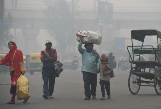 new delhi inegalité polution riches pauvres