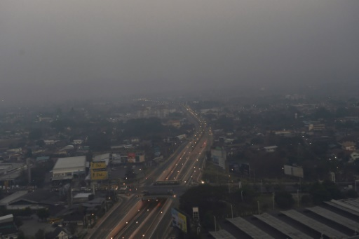 taux record pollution thailande nord