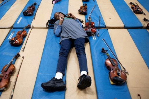 baltimore violons violence concert