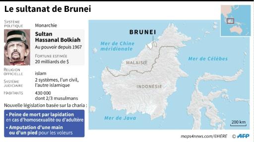 Brunei peine d emrot homosexualite