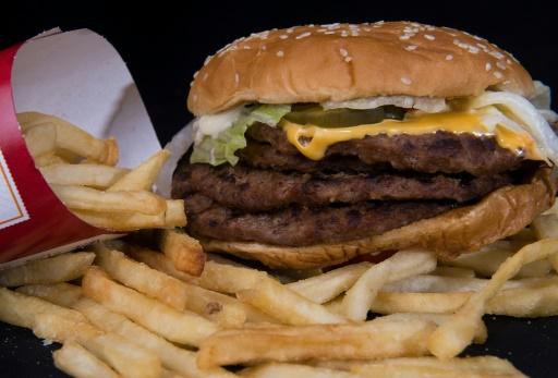 tri des déchets fast food