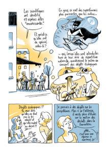 """Extrait- Bande dessinée """"La Guerre des fourmis"""" - © Mathieu Ughetti"""
