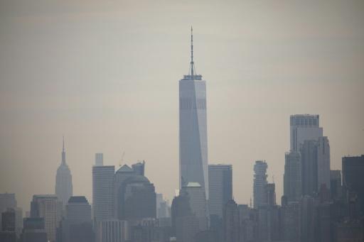 Les bâtiments représentent 70 à New York la principale source d'émission de gaz à effet de serre © GETTY IMAGES NORTH AMERICA/AFP Drew Angerer