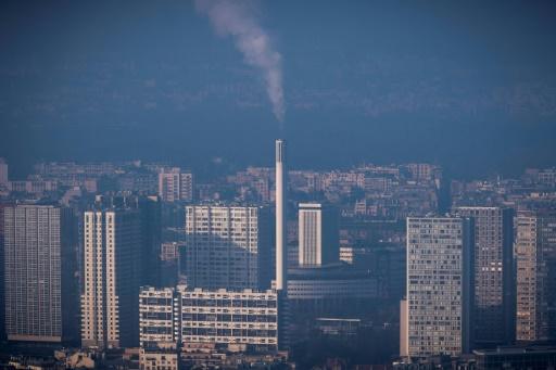 Vue depuis la tour Montparnasse à Paris, en décembre 2016 © AFP/Archives LIONEL BONAVENTURE