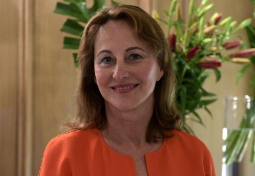L'ambassadrice des Pôles Ségolène Royal à Buenos Aires le 15 mai 2018 © AFP/Archives JUAN MABROMATA