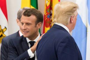 Emmanuel Macron et Donald Trump au sommet du G20 à Osaka, le 28 juin 2019 © POOL/AFP Jacques Witt