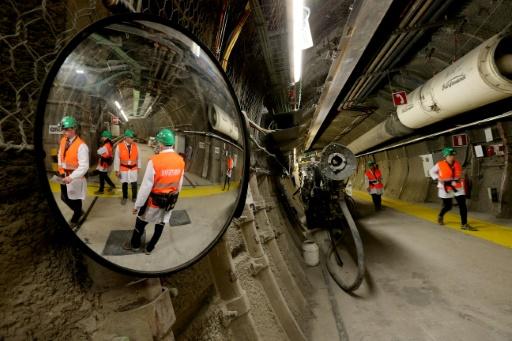 Le laboratoire d'un futur site d'enfouissement de déchets nucléaires à Bure dans la Meuse, le 16 avril 2018 © AFP/Archives FRANCOIS NASCIMBENI