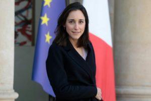 La secrétaire d'État à la Transition écologique Brune Poirson à l'Elysée, le 13 février 2019 © AFP/Archives LUDOVIC MARIN