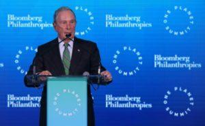 Le milliardaire et philanthrope américain Michael Bloomberg, en septembre 2018 à New York © AFP/Archives Ludovic MARIN
