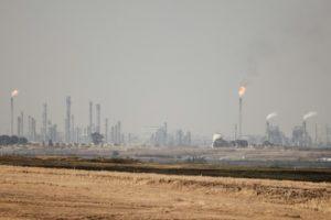 Une unité de production de pétrole de synthèse obtenu à partir de charbon, à Secunda, en Afrique du Sud, le 6 septembre 2018 © AFP/Archives GIANLUIGI GUERCIA