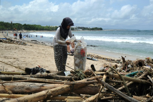bali pollution plastique