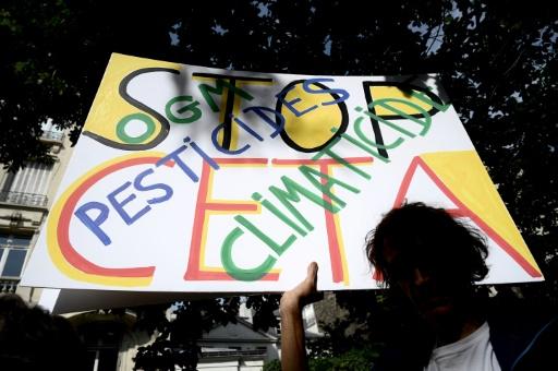Manifestation contre le Ceta, le 16 juin 2019 à Paris © AFP/Archives PHILIPPE LOPEZ