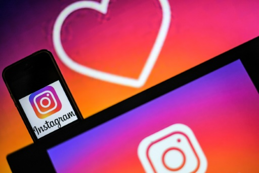 Le logo d'Instagram © AFP/Archives LOIC VENANCE