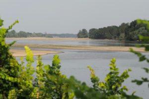 Le bas niveau de la Loire est inédit à cette période de l'année © AFP GUILLAUME SOUVANT