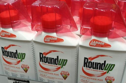Des bouteilles de Round Up de Monsanto, le 9 juin 2018 dans une boutique de Glendale en Californie © AFP/Archives Robyn Beck