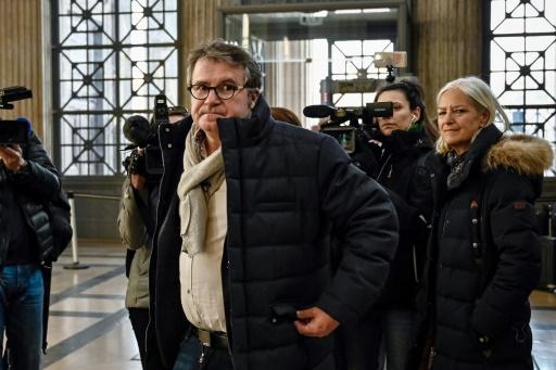 L'agriculteur Paul François arrive à la cour d'appel de Lyon pour son procès contre Monsanto, le 6 février 2019 © AFP/Archives JEFF PACHOUD