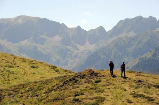 Des randonneurs au Col de La Pique, dans les Pyrénées © AFP/Archives PASCAL PAVANI