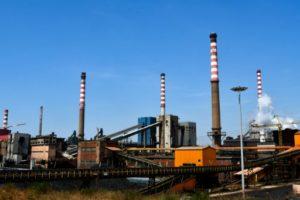 L'aciérie d'ArcelorMittal Ilva à Tarente (Italie) le 23 juillet 2019 © AFP Tiziana FABI