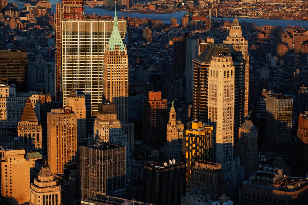 Financial District, Manhattan, New York, United States (40°42' N - 74° 0' W).