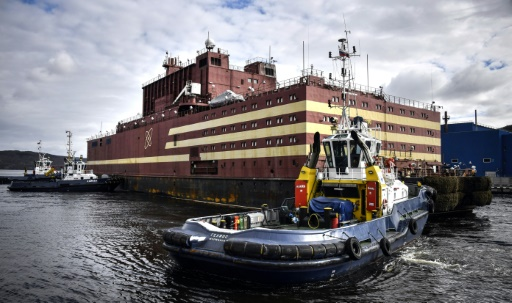 centrale nucleaire flottante russe
