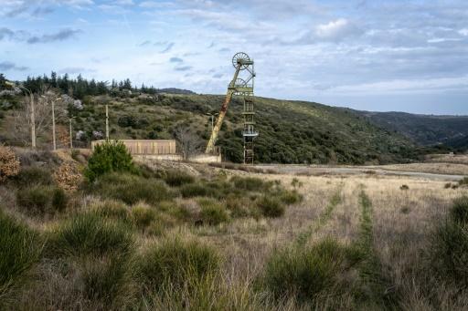 Le site de la mine de Salsigne dans l'Aude, le 04 mars 2019 à Villanière © AFP/Archives ERIC CABANIS